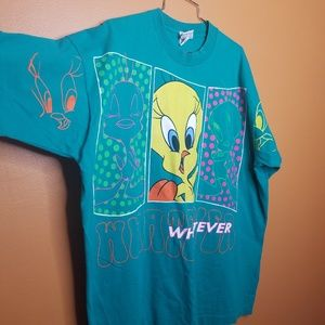 Vintage 1997 Tweety Bird Looney Tunes Whatever XXL